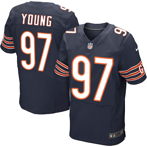 Willie Young Nike Chicago Bears Elite Navy Blue Team Color Jersey