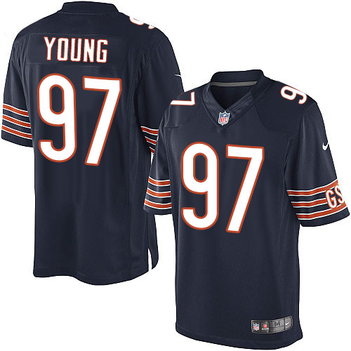 Willie Young Nike Chicago Bears Limited Navy Blue Team Color Jersey
