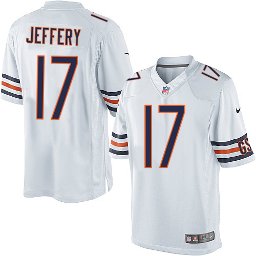 Alshon Jeffery Nike Chicago Bears Limited White Jersey
