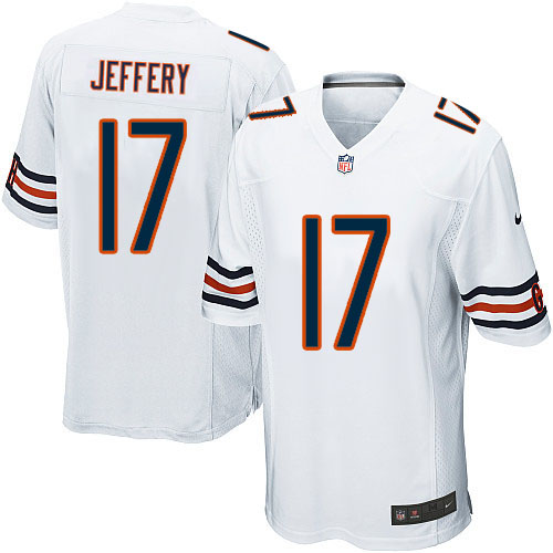 Alshon Jeffery Nike Chicago Bears Game White Jersey