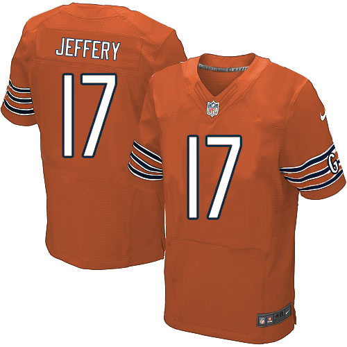 Alshon Jeffery Nike Chicago Bears Elite Orange Alternate Jersey