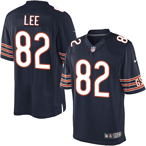Khari Lee Nike Chicago Bears Limited Navy Blue Team Color Jersey