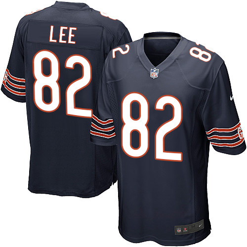 Khari Lee Nike Chicago Bears Game Navy Blue Team Color Jersey