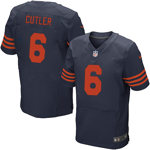 Jay Cutler Nike Chicago Bears Elite Navy Blue 1940s Throwback Alternate Jersey