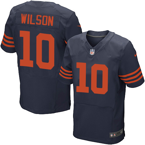 Marquess Wilson Nike Chicago Bears Elite Navy Blue 1940s Throwback Alternate Jersey