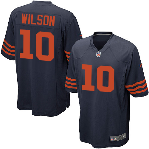 Marquess Wilson Nike Chicago Bears Game Navy Blue 1940s Throwback Alternate Jersey