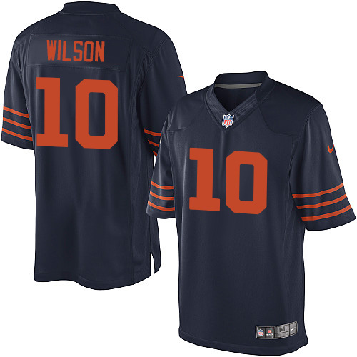 Marquess Wilson Youth Nike Chicago Bears Elite Navy Blue 1940s Throwback Alternate Jersey