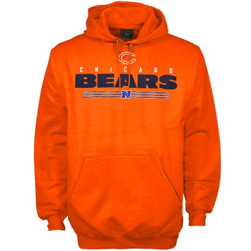 Chicago Bears Critical Victory VI Hoodie - Orange