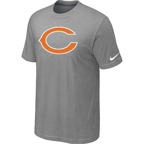 Nike Chicago Bears Sideline Legend Authentic Logo Dri-FIT T-Shirt - Grey