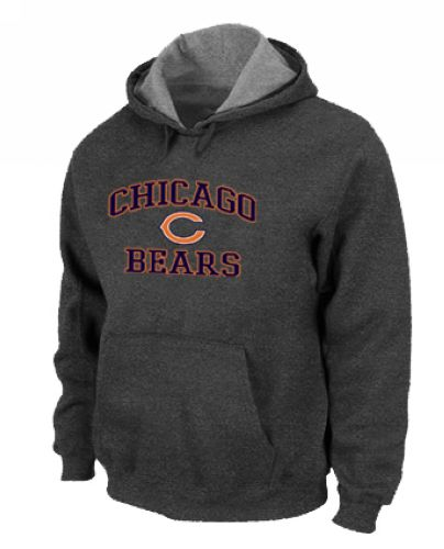 Nike Chicago Bears Heart & Soul Pullover Hoodie - Dark Grey